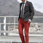 prendas color rojo para hombres 2017 - 2018
