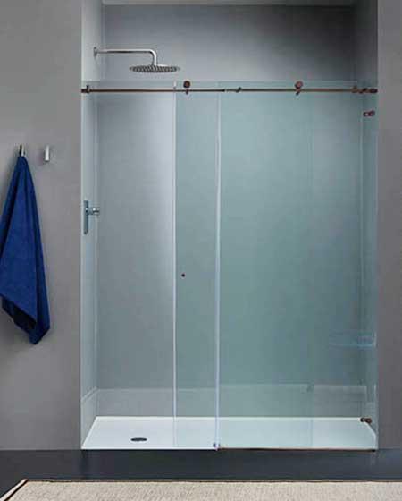 puerta corrediza para baños
