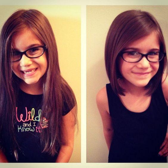 Cortes de cabello para niña cortos
