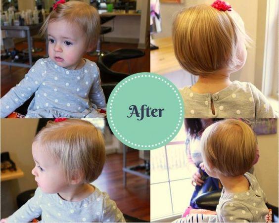 Cortes de cabello para niña de 1 año