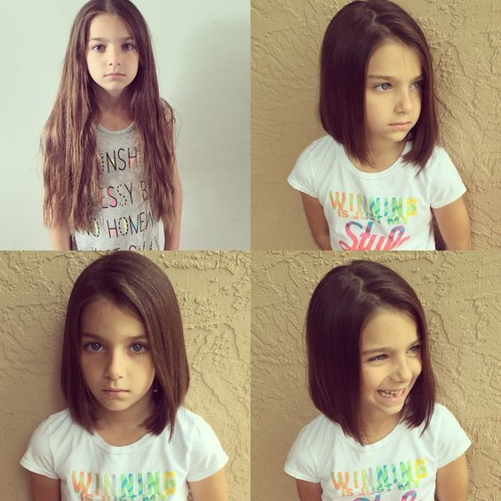 Cortes de cabello para niña de 10 años