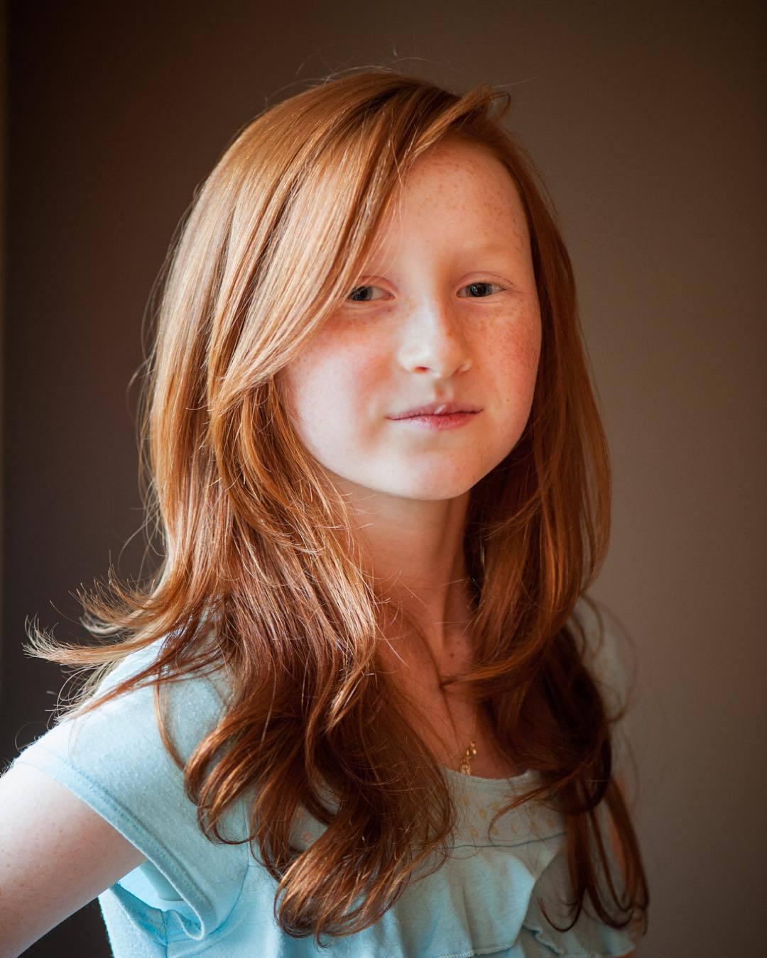 Cortes de cabello para niña de 11 años