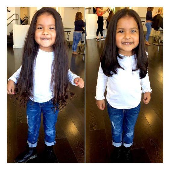 Cortes de cabello para niña de 3 años