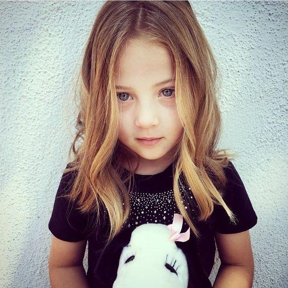 Cortes de cabello para niña de 4 años
