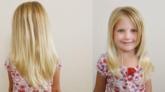 Cortes de cabello para niña de 5 años