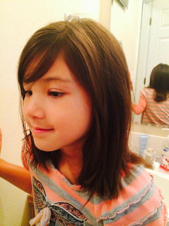 Cortes de cabello para niña de 8 años