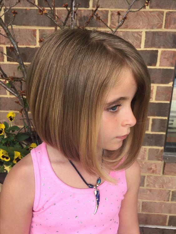 Cortes de cabello para ninas 2018 modernos
