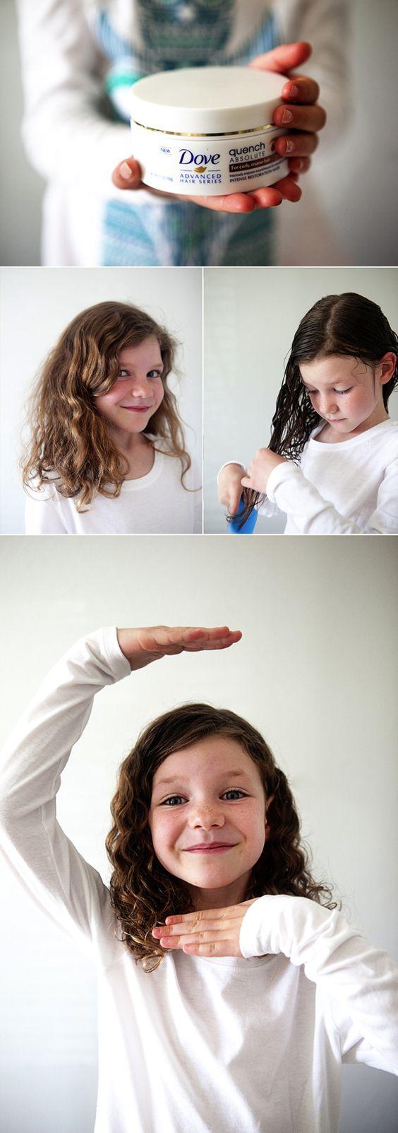 Cortes de pelo de niña en cabello chino