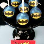 Bocadillos para fiesta de batman