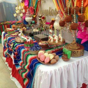 Bocadillos para fiesta mexicana