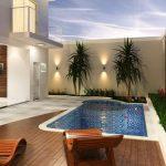 Casas modernas con piscina