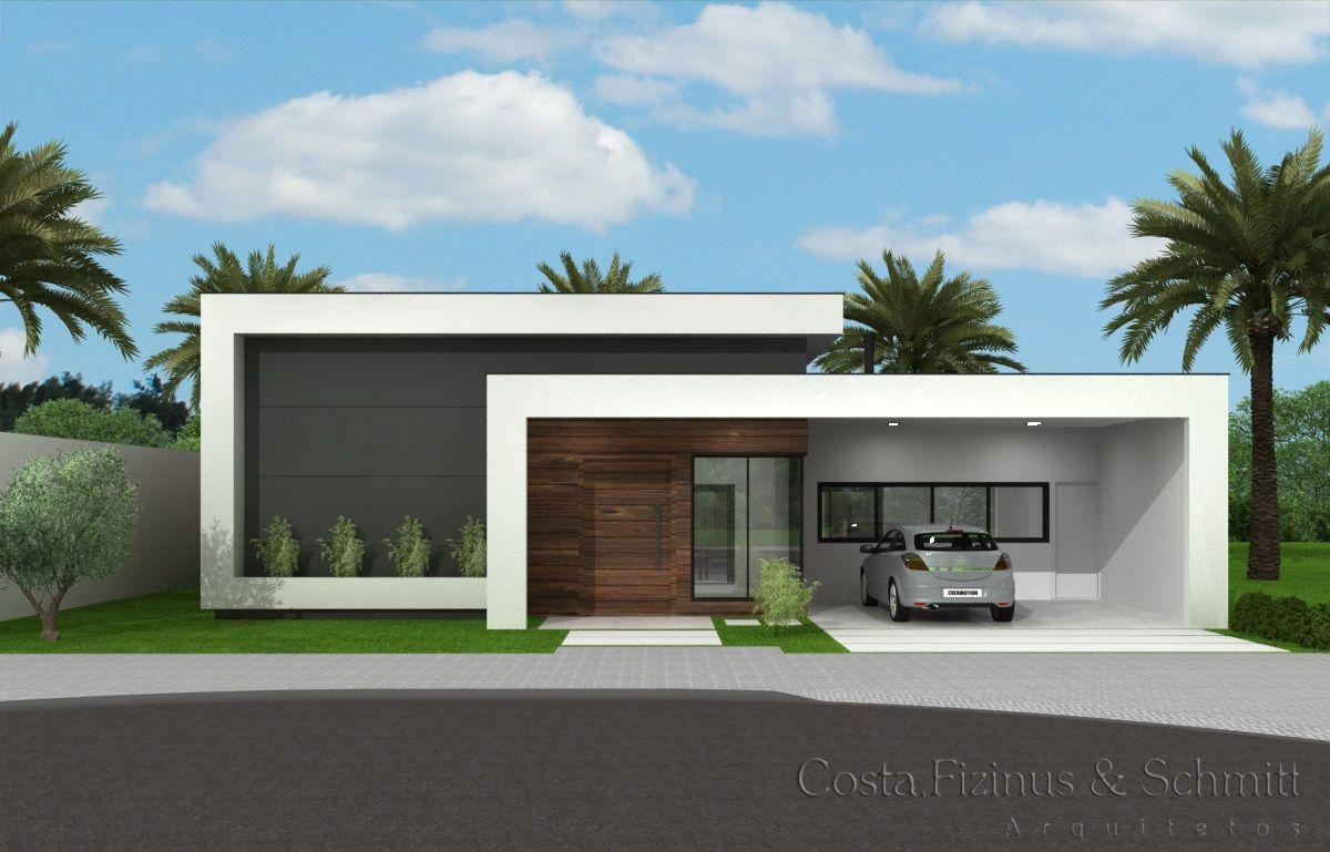 Casas modernas 2018 120 im genes de exteriores e interiores for Fotos de casas modernas de una planta