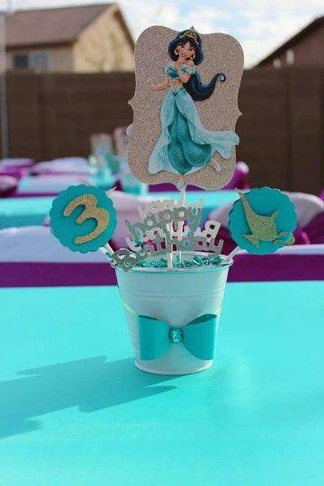 centros de mesa de princesas (2)