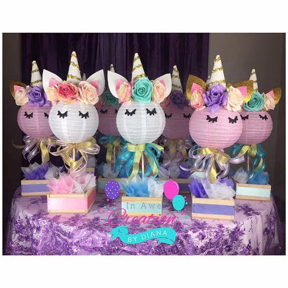 centros de mesa de unicornio (2)