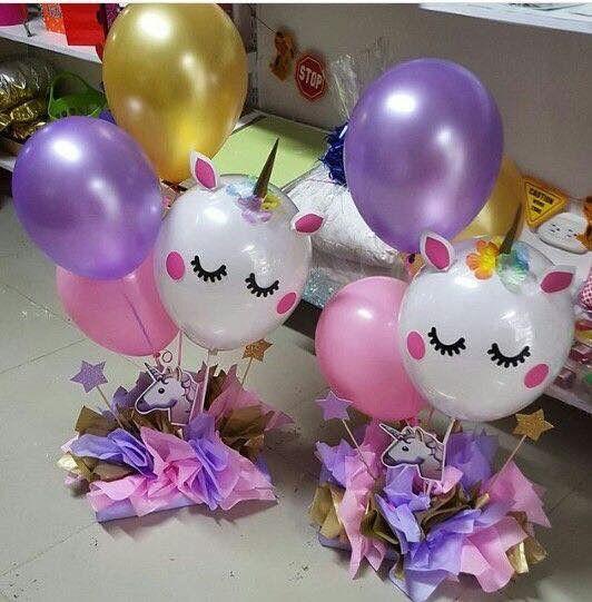 centros de mesa de unicornio (4)