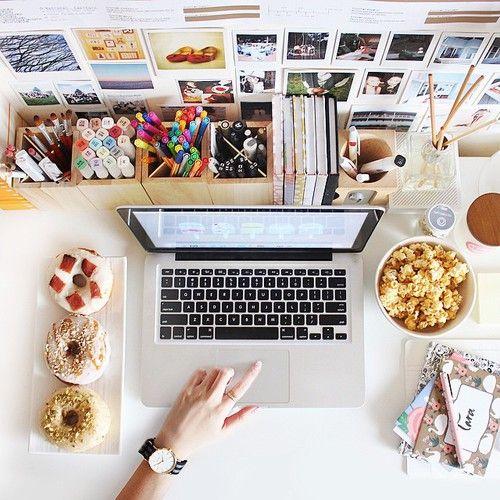 ¿Cómo organizar el escritorio de la oficina?