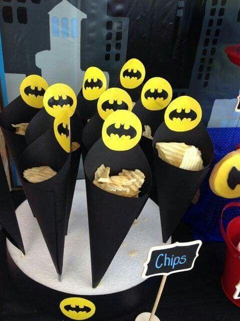 Detalles personalizados para fiesta de batman