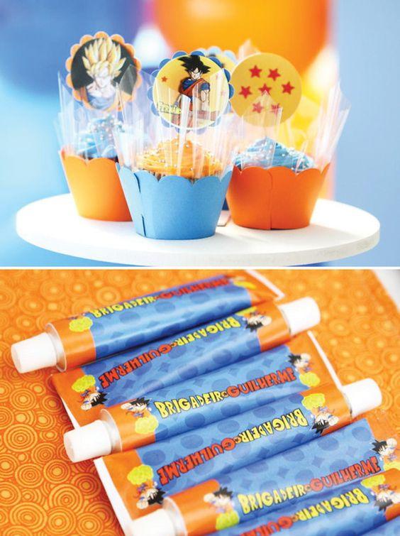 Detalles personalizados para fiestas infantiles de goku - Detalles de fiesta ...