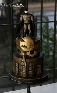 Diseños de pasteles de batman