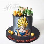 Diseños de pasteles de goku