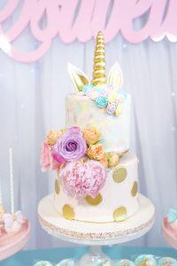 Diseños de pasteles de unicornio