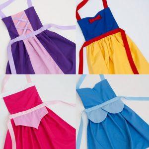 Disfraces de princesas para fiesta infantil