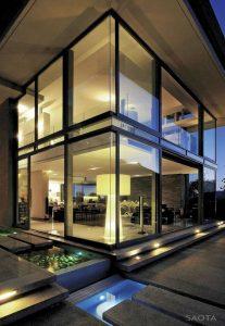 Fachadas con mucho vidrio