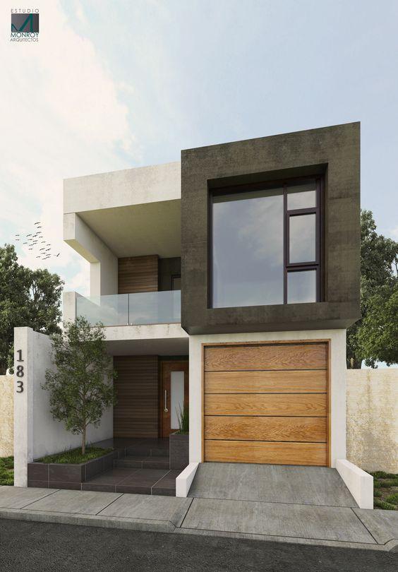fachadas de casas de dos pisos (3)