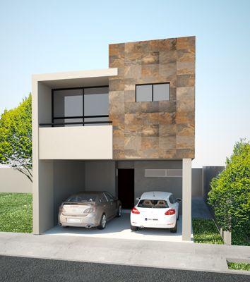 fachadas de casas de dos pisos (4)