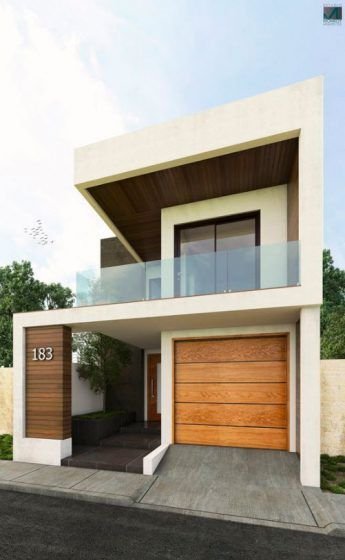 fachadas de casas de dos pisos (5)