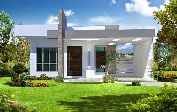 fachadas de casas deun piso (3)