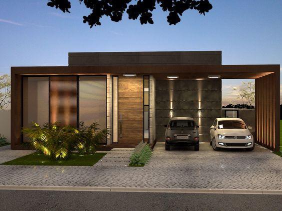 fachadas de casas pequenas modernas (4)