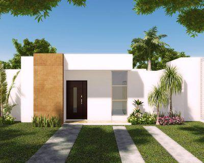 fachadas de casas sencillas de infonavit (3)