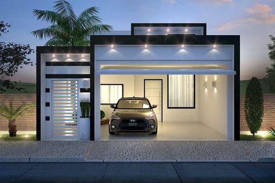 fachadas de casas sencillas de infonavit (4)