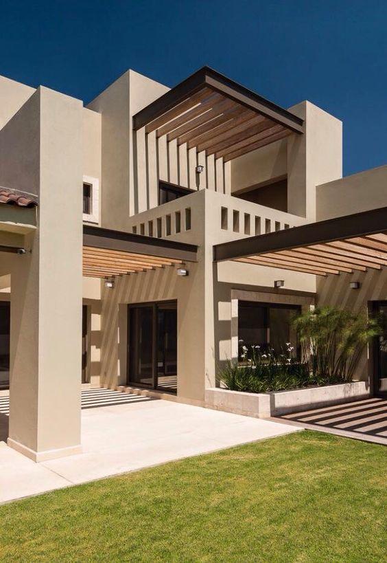 Casas modernas 2018 120 im genes de exteriores e interiores for Casas residenciales minimalistas