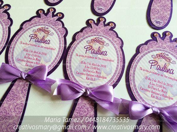 ideas para fiesta de princesita sofia (2)
