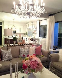iluminacion de salas modernas