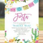 Invitaciones con tema mexicano