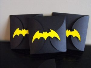 Invitaciones de batman