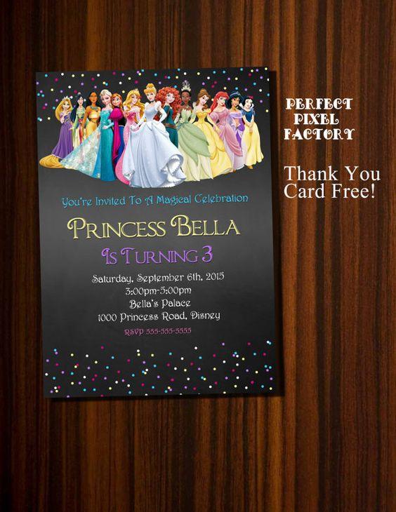 invitaciones de princesas (1)