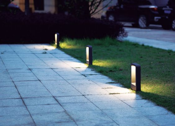 lamparas de exterior modernas
