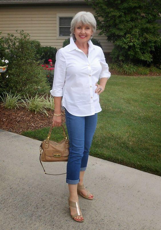 Outfits para mujeres mayores
