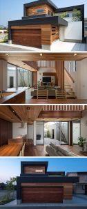 Los interiores y exteriores se integran