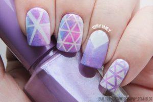 manicure con estilo geometrico romantico (4)