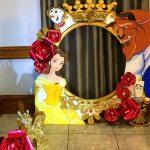 Marcos para fotos con temática de princesas Disney