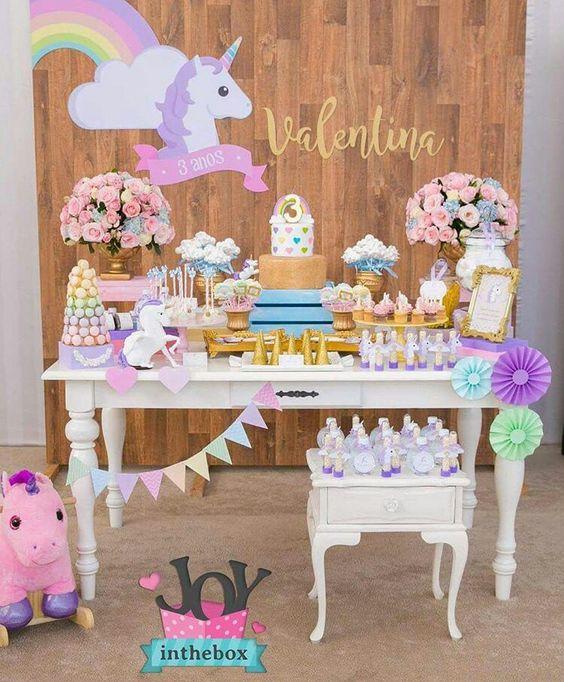mesa de postres de unicornio (3)
