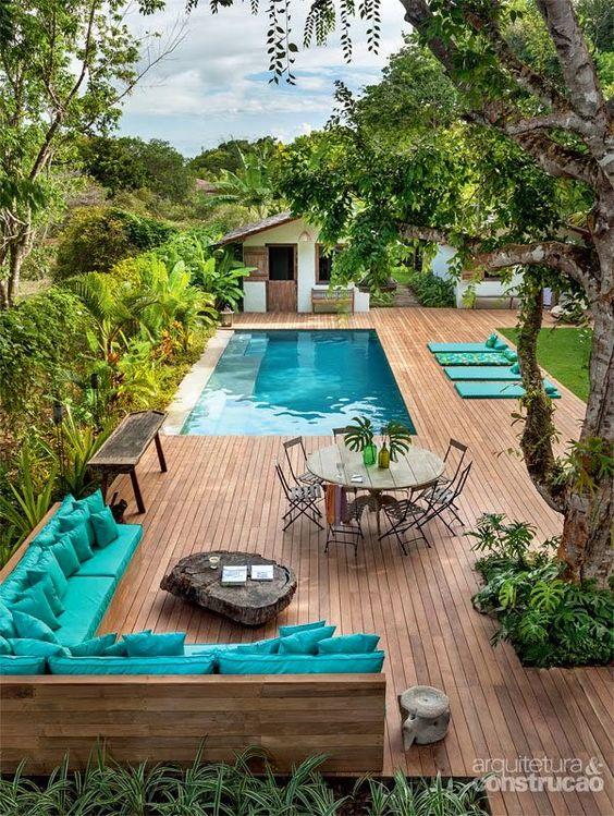 Muebles modernos para jardin
