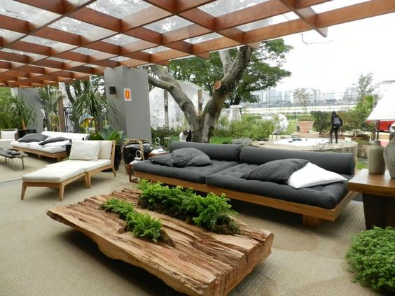 Decoracion de exteriores fachadas colores y m s for Muebles para exteriores baratos