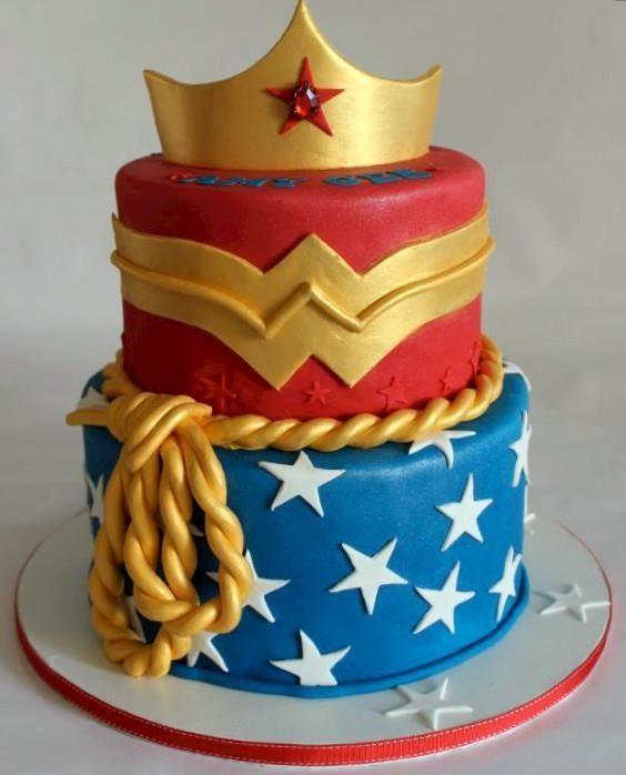 pasteles de la mujer maravilla (3)