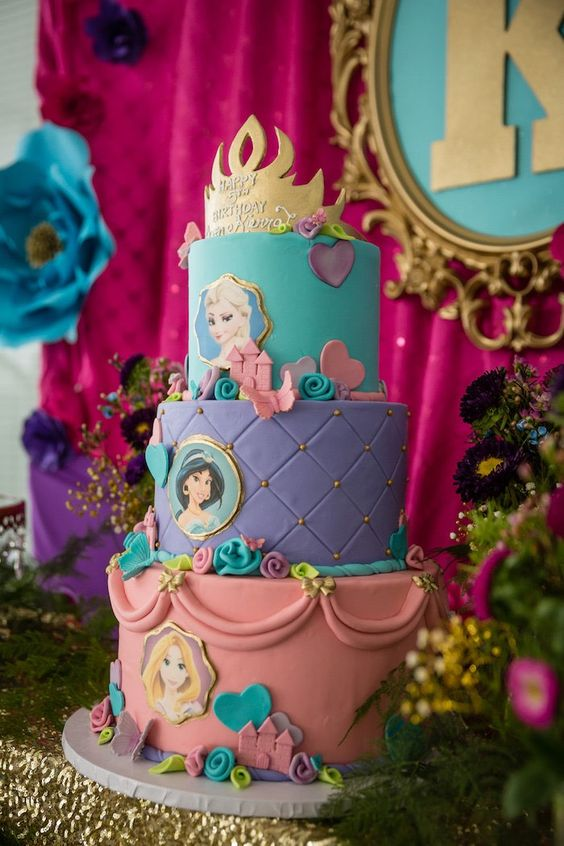pasteles de princesas (4)